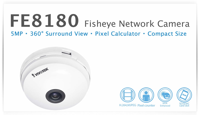 VIVOTEK - 5MP · 360° Surround View · Pixel Calculator